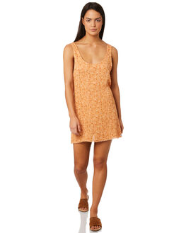 WILD CHERRY WOMENS CLOTHING AFENDS DRESSES - W184807WILD