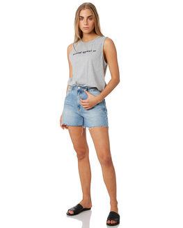 GREY MARLE WOMENS CLOTHING ELWOOD SINGLETS - W93003-309