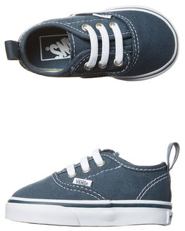 DARK SLATE WHITE KIDS TODDLER BOYS VANS FOOTWEAR - VN-08E9MJ7DKSL