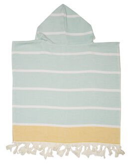 MINT MUSTARD KIDS TODDLER BOYS MAYDE TOWELS - 18SHELMMST