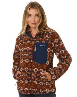 TUNDRA SISU BROWN WOMENS CLOTHING PATAGONIA JACKETS - 23074TCSB