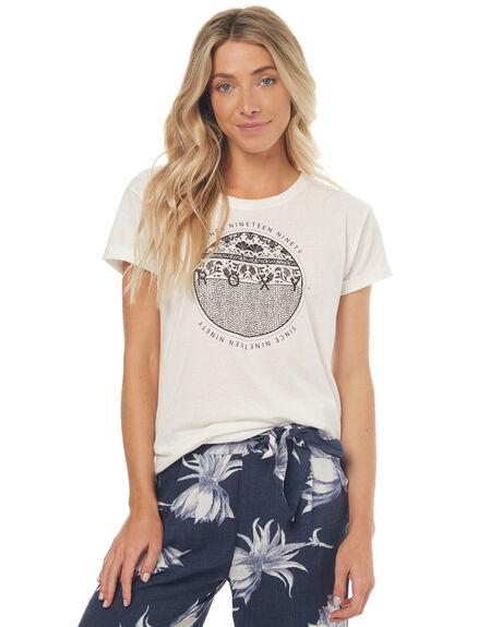 MARSHMELLOW WOMENS CLOTHING ROXY TEES - ERJZT04146WBT0