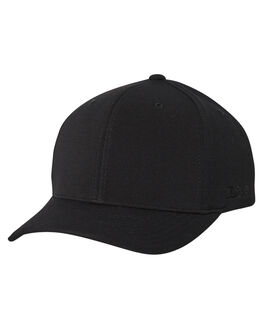 BLACK MENS ACCESSORIES FLEX FIT HEADWEAR - COS-1003-BLK