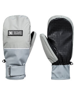 NEUTRAL GRAY BOARDSPORTS SNOW DC SHOES GLOVES - EDYHN03051-SKP0