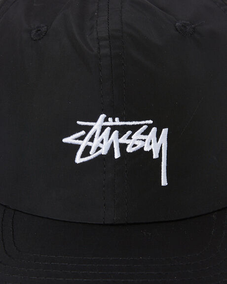 BLACK MENS ACCESSORIES STUSSY HEADWEAR - ST702005BLACK