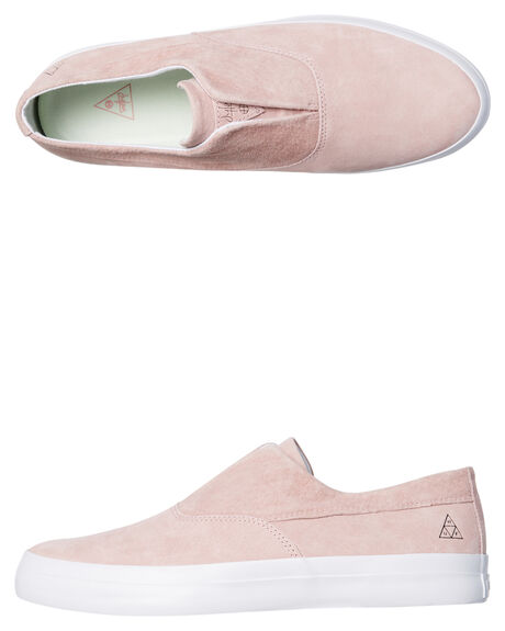PINK MENS FOOTWEAR HUF SKATE SHOES - VC00009PNK