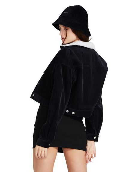 BLACK WOMENS CLOTHING INSIGHT JACKETS - 35742100022