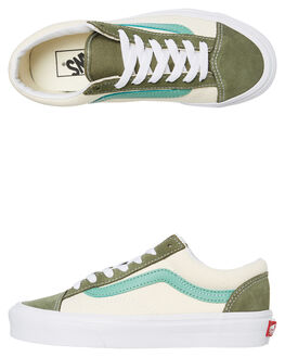 GREEN WOMENS FOOTWEAR VANS SNEAKERS - SSVNA3DZ3VY0W