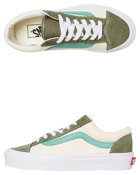 GREEN WOMENS FOOTWEAR VANS SNEAKERS - SSVNA3DZ3VY0W