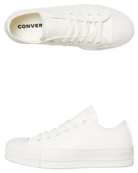 VINTAGE WHITE WOMENS FOOTWEAR CONVERSE SNEAKERS - 564429CVWHT