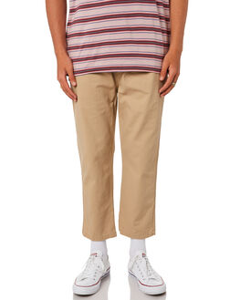 TAN MENS CLOTHING STUSSY PANTS - ST095604TAN