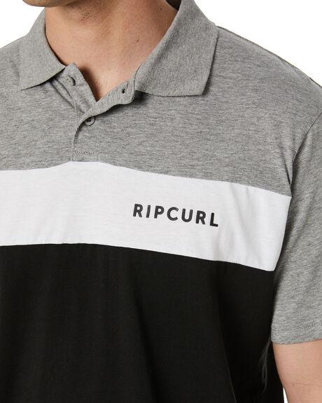 BLACK MENS CLOTHING RIP CURL SHIRTS - CPLAA90090