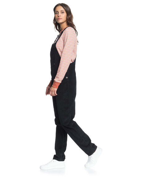 ANTHRACITE WOMENS CLOTHING ROXY PLAYSUITS + OVERALLS - ERJWD03467-KVJ0