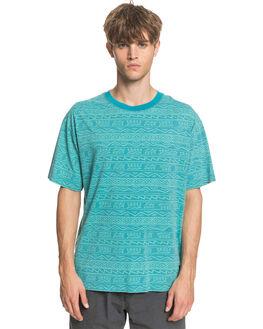 PAGODA BLUE MENS CLOTHING QUIKSILVER TEES - EQYKT03983-BNP6