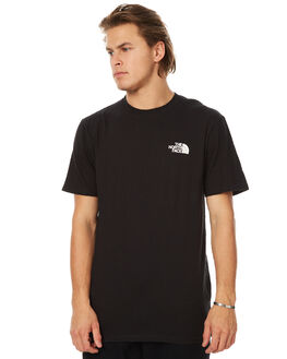 TNF BLACK MENS CLOTHING THE NORTH FACE TEES - NF00CA0GKY4