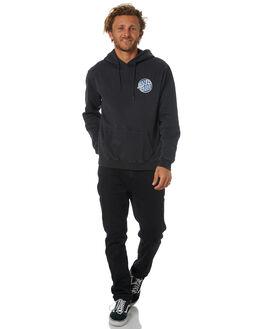 BLACK MENS CLOTHING SANTA CRUZ JUMPERS - SC-MFC8921BLACK
