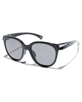 POLISHED BLACK WOMENS ACCESSORIES OAKLEY SUNGLASSES - OO9433-0154