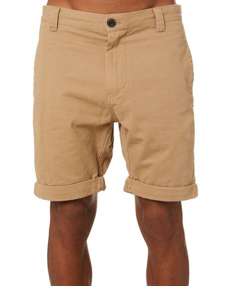 COFFEE MENS CLOTHING ACADEMY BRAND SHORTS - 20S600COFF