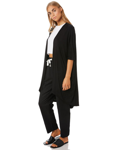 BLACK WOMENS CLOTHING BETTY BASICS KNITS + CARDIGANS - BB531T20BLK