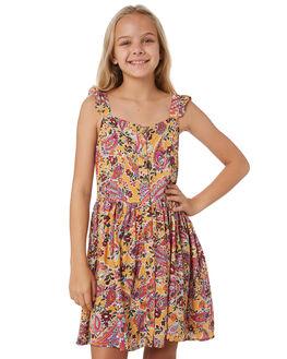 WANDERER PRINT KIDS GIRLS EVES SISTER DRESSES + PLAYSUITS - 9540045WAND