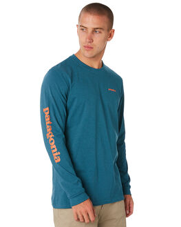 TASMANIAN TEAL MENS CLOTHING PATAGONIA TEES - 39042TATE