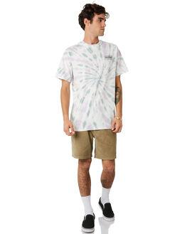 PURPLE TEAL MENS CLOTHING RHYTHM TEES - JAN20M-CT07-PTE