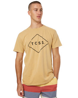 GOLDEN HAZE MENS CLOTHING THE CRITICAL SLIDE SOCIETY TEES - SWT1701GHZE