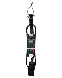 BLACK BOARDSPORTS SURF FCS LEASHES - ECOA-BLK-05FBLK