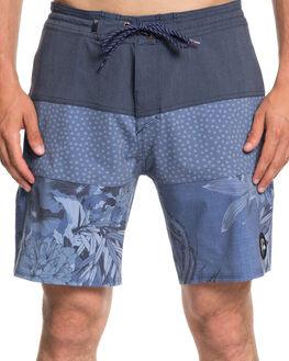 BIJOU BLUE MENS CLOTHING QUIKSILVER BOARDSHORTS - EQYBS04062BNG6