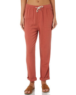 RUST OUTLET WOMENS SWELL PANTS - S8184194RUST