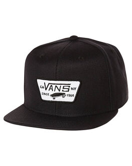 TRUE BLACK MENS ACCESSORIES VANS HEADWEAR - VN-0QPU9RJTBLK