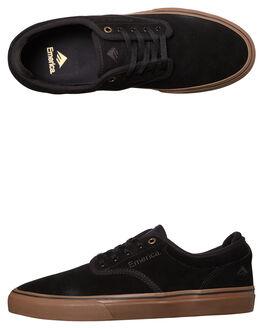 BLACK GUM MENS FOOTWEAR EMERICA SKATE SHOES - 6101000104-964