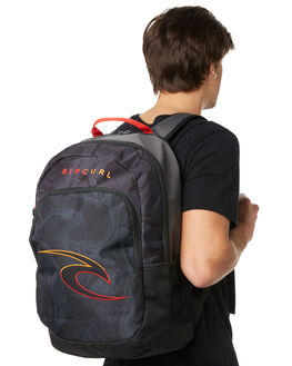 BLACK MENS ACCESSORIES RIP CURL BAGS + BACKPACKS - BBPZW10090
