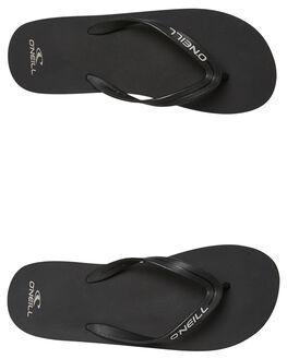 BLACK MENS FOOTWEAR O'NEILL THONGS - SP8184012BLK