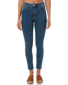 BLUE LOVE WOMENS CLOTHING CHEAP MONDAY JEANS - 0499353BLLOVE
