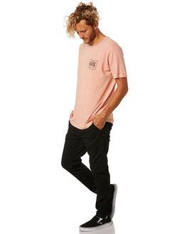 SALMON MENS CLOTHING KATIN TEES - TSGRU02SLMN