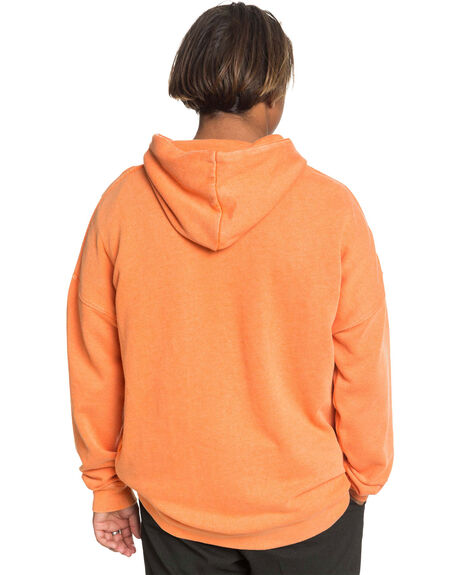 VIBRANT ORANGE MENS CLOTHING QUIKSILVER JUMPERS - EQYFT04145-NLH0