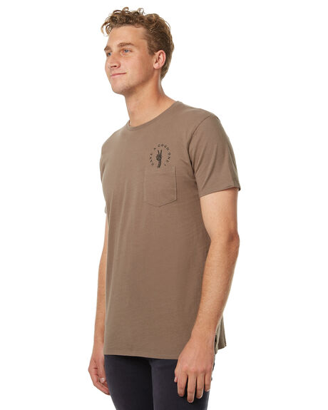 WASHED OLIVE MENS CLOTHING SWELL TEES - S5174005WOLI