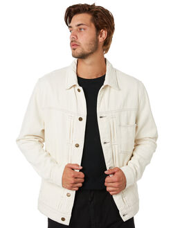 SHADY WHITE MENS CLOTHING THRILLS JACKETS - TDP-237ASHWHT