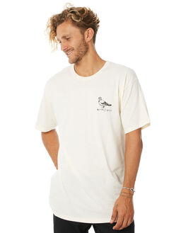 CREAM MENS CLOTHING ANTI HERO TEES - BPIGTCRM