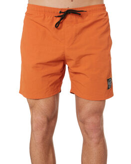 BURNT ORANGE OUTLET MENS SANTA CRUZ BOARDSHORTS - SC-MBD9392BORA