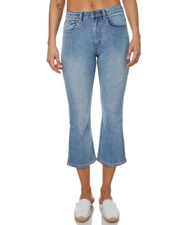 MID BLUE OUTLET WOMENS MINKPINK JEANS - MD1702935MBLU
