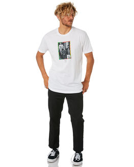WHITE MENS CLOTHING GOOD WORTH TEES - TES1831WHITE