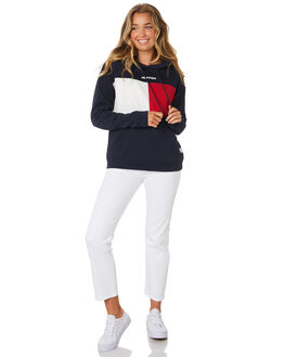 NAVY WOMENS CLOTHING HUFFER JUMPERS - WHD91S533NAV