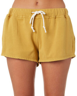 GOLD WOMENS CLOTHING RIP CURL SHORTS - GWABR90146