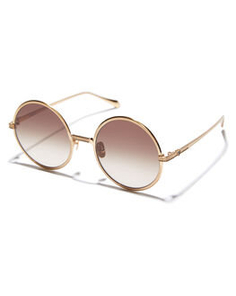 BRUSHED GOLD WOMENS ACCESSORIES VALLEY SUNGLASSES - S0433BGLD