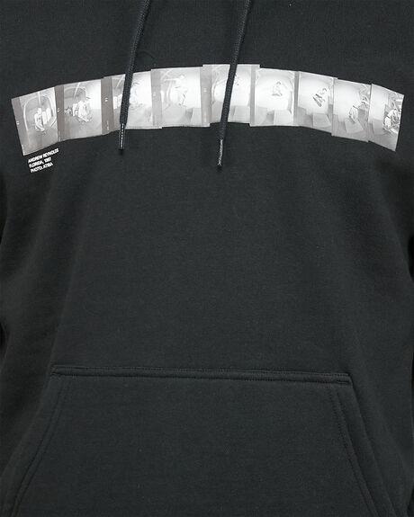 BLACK MENS CLOTHING RVCA JUMPERS - RV-R306152-BLK