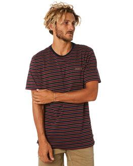 NAVY MENS CLOTHING DEPACTUS TEES - D5183006NAVY