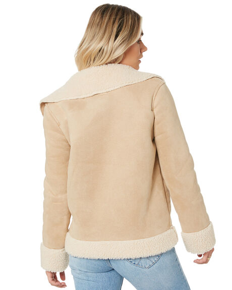 MOONLIGHT WOMENS CLOTHING RUSTY JACKETS - JKL0402MOO