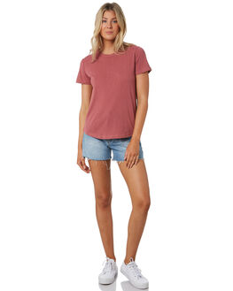 WASHED ROSE WOMENS CLOTHING SWELL TEES - S8201014WSHRS
